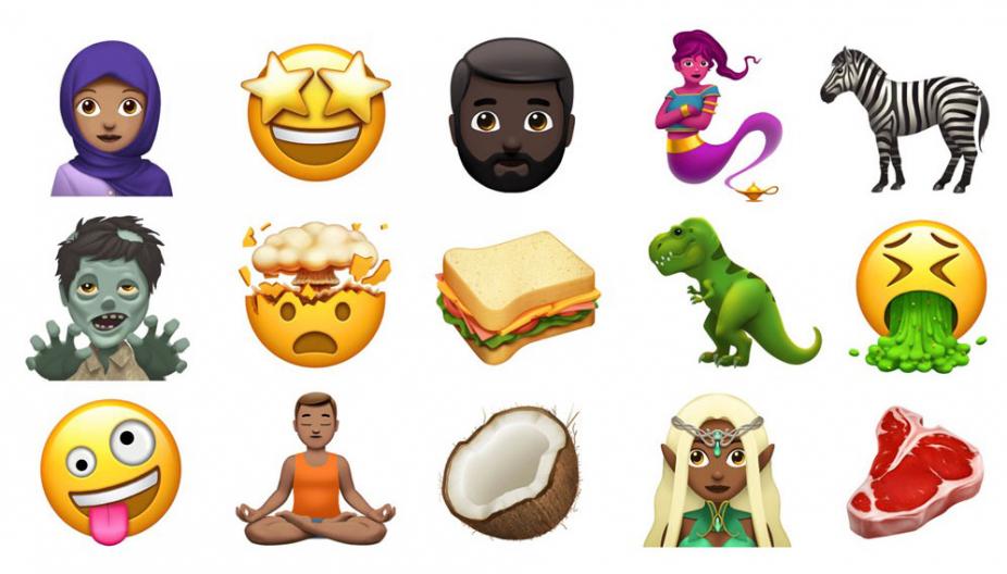 Зомби, тиранозавр и джин — новые эмодзи iOS 11