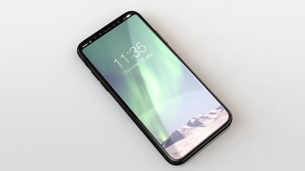 Финальный дизайн iPhone 8