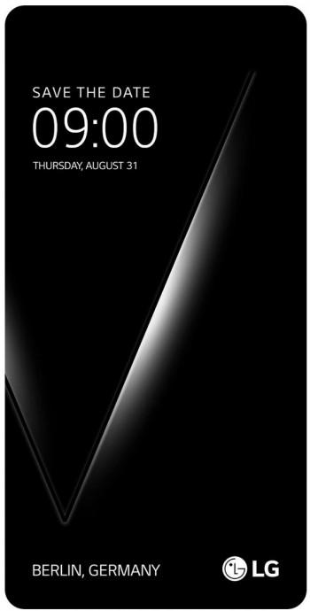 LG везет V30 на IFA 2017