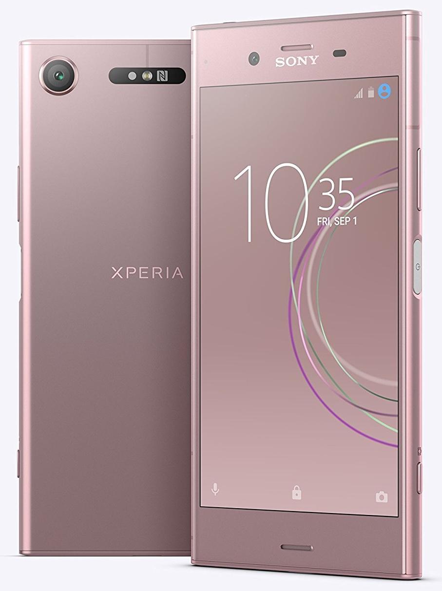 Xperia XZ1 на качественных рендерах