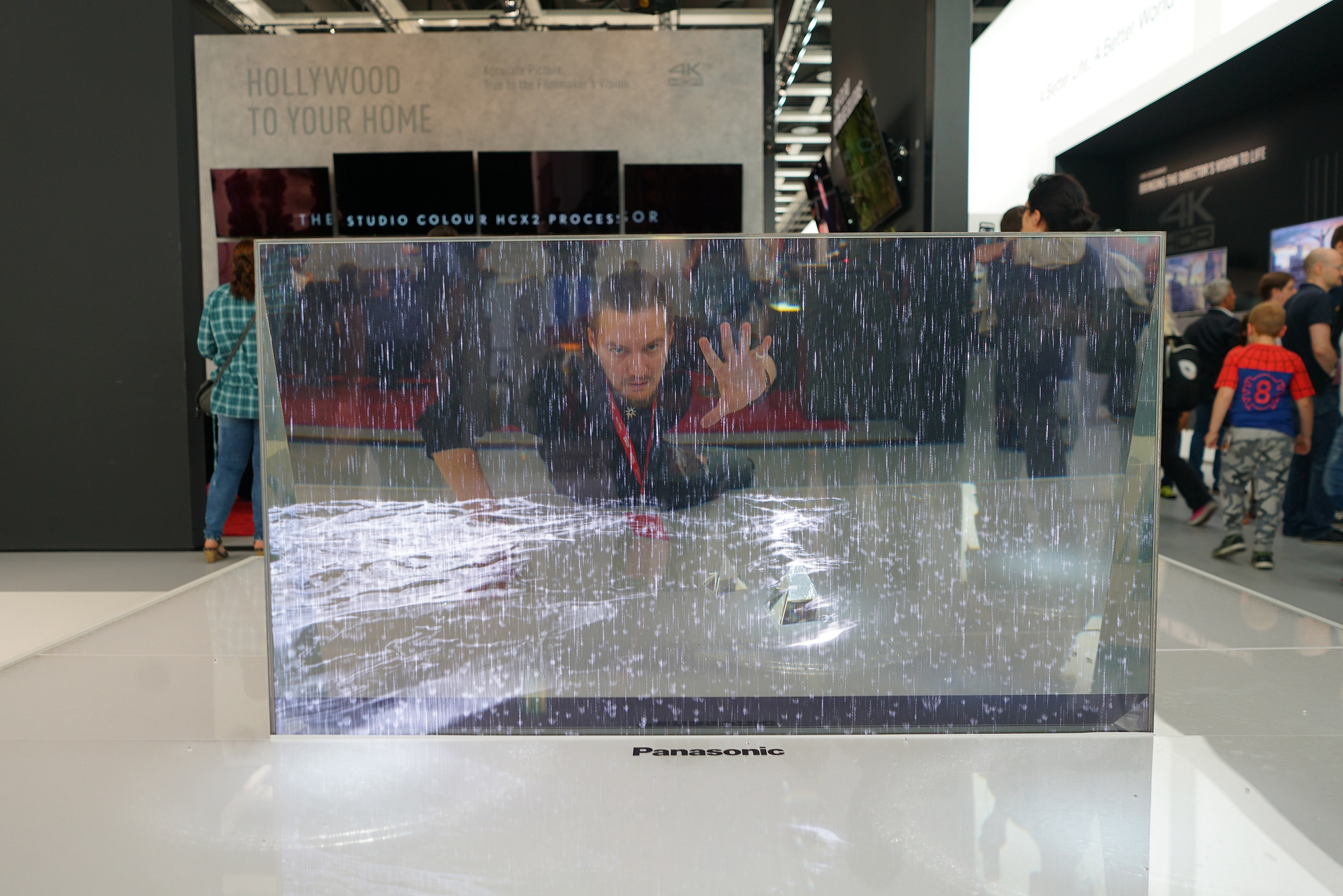 Прозрачный телевизор Panasonic | IFA 2017
