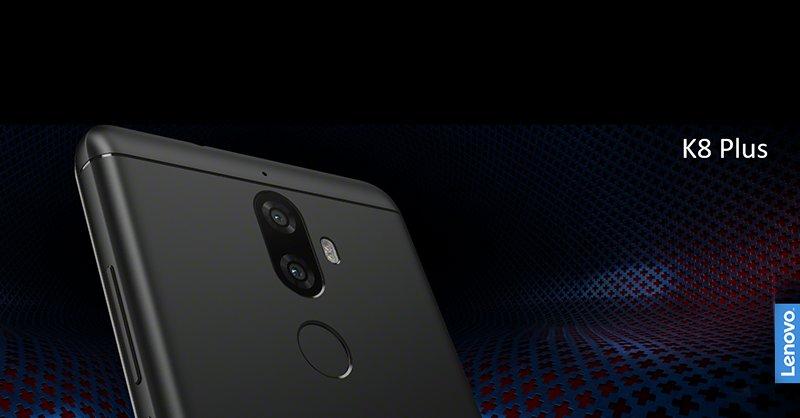 K8 Plus от Lenovo заполучил двойную камеру