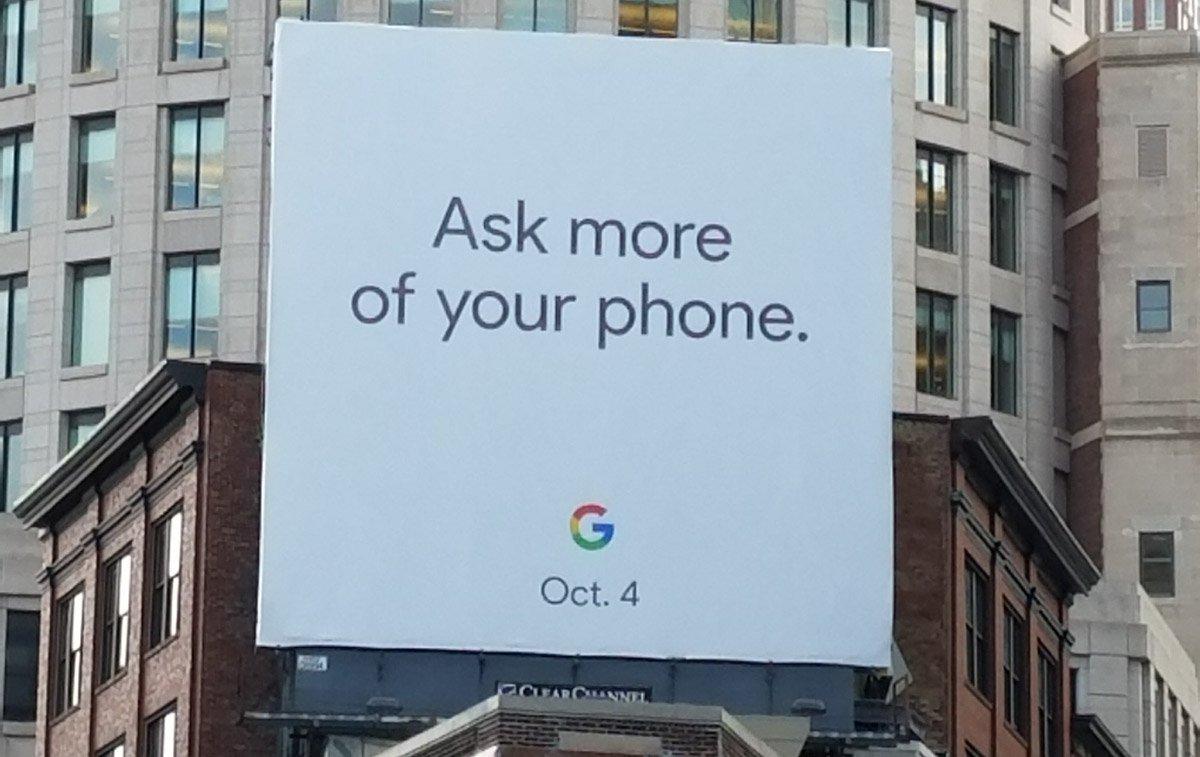 Google намекает на дату анонса Pixel 2