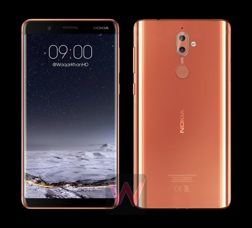 Nokia 9 «засветился» на рендерах