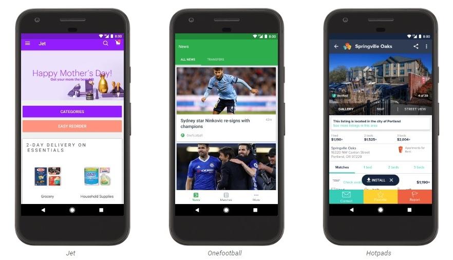 Google открыла мгновенный запуск приложений