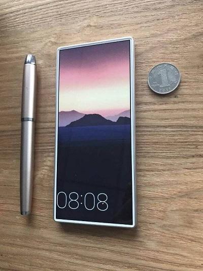 Каким будет смартфон с безрамочным экраном на 100%?