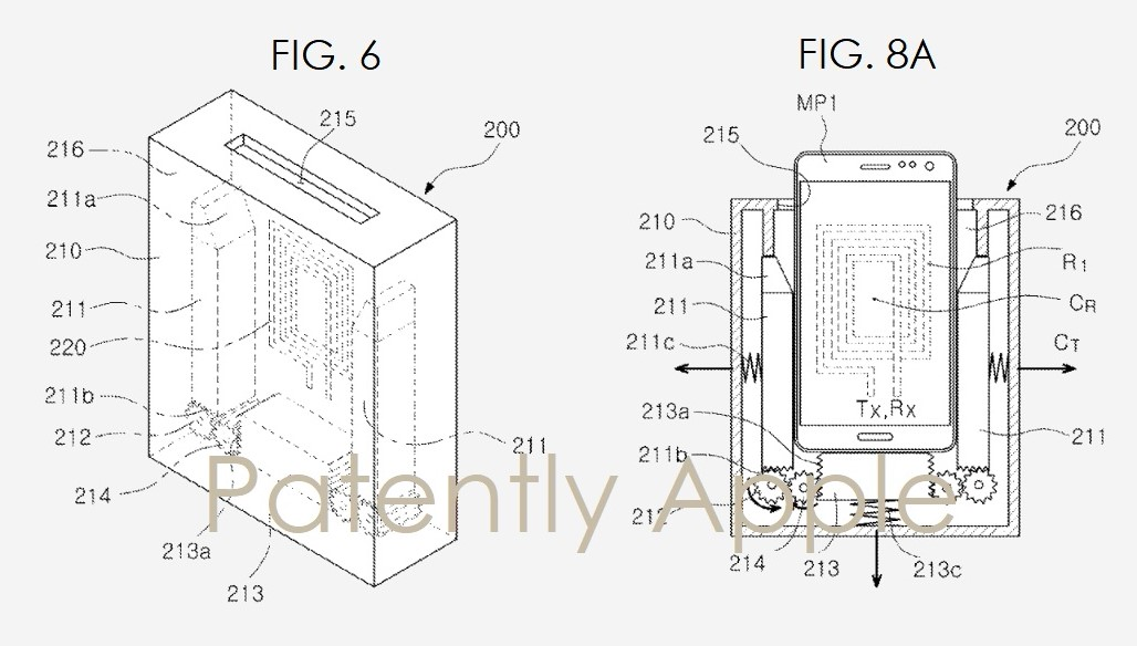 Samsung запатентовала зарядку-тостер