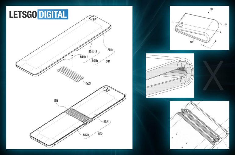 Гибкий смартфон Samsung на новых картинках