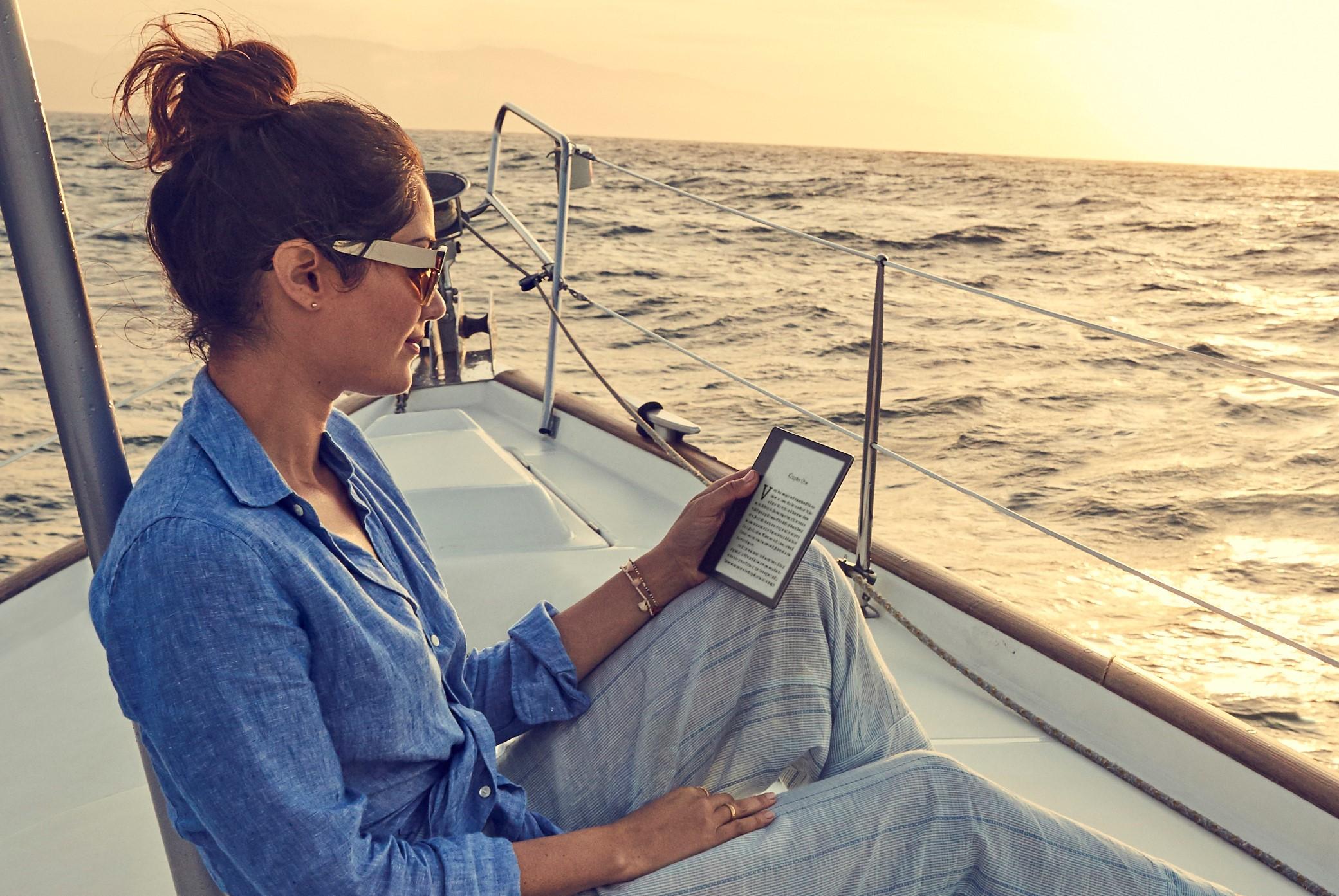 Kindle Oasis — первый ридер Amazon с водозащитой