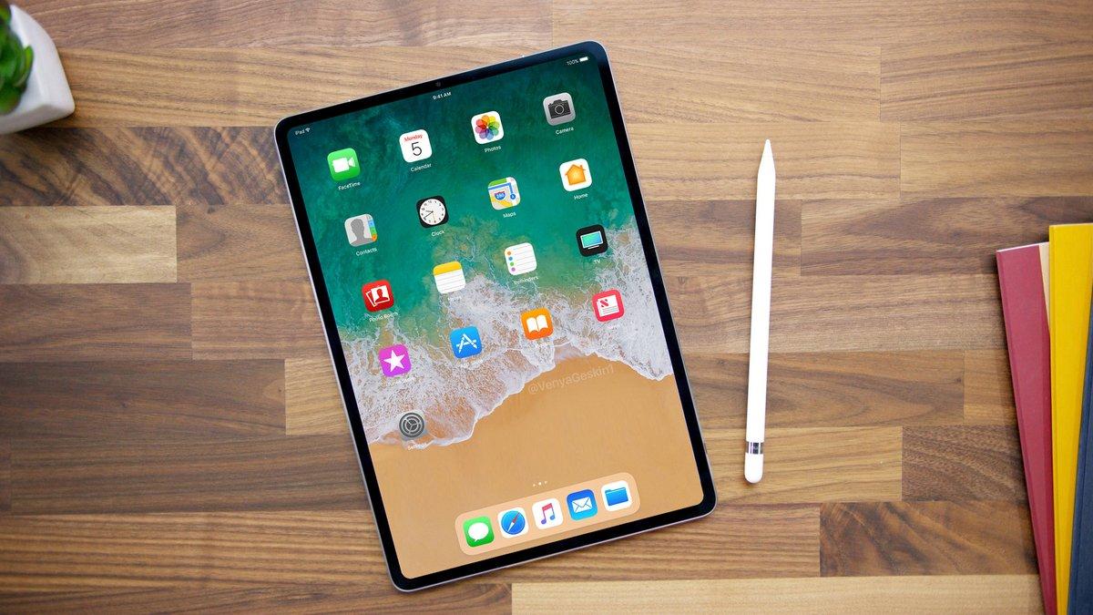 Концептуальный iPad Pro из 2018 года