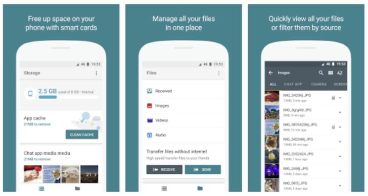 Google разберется с файлами в смартфонах