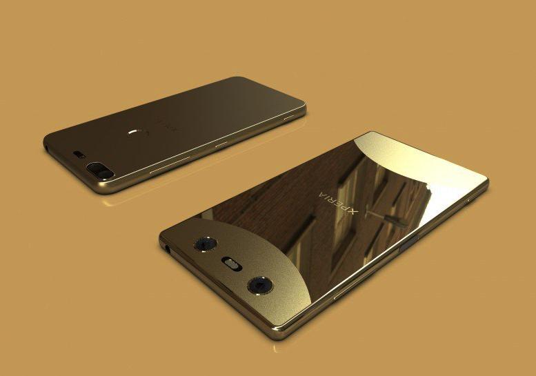 Новый дизайн смартфонов Sony
