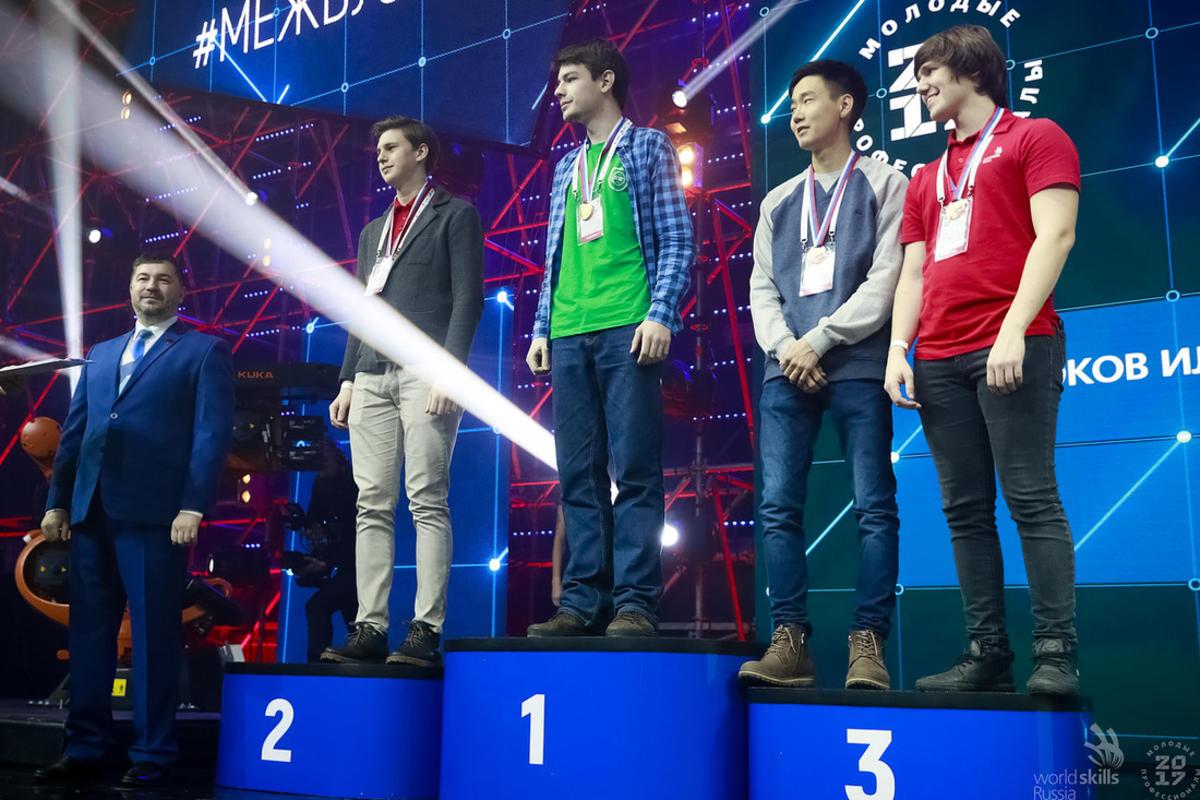 Время поздравлять чемпионов WorldSkills Russia