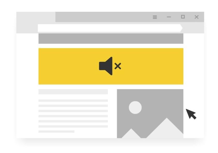 Браузер Yandex против агрессивной рекламы