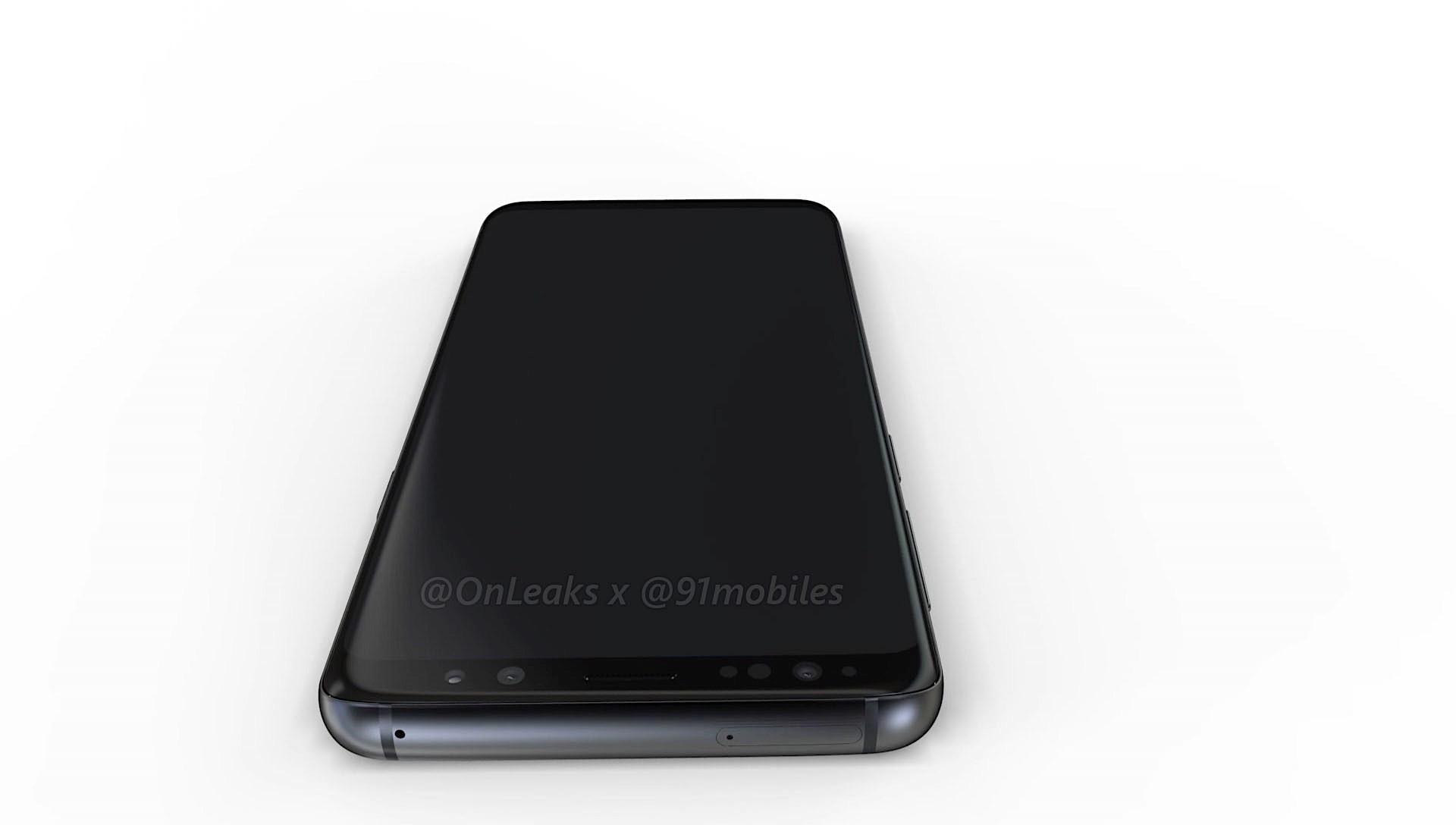 Galaxy S9 оказался на 3D-рендере