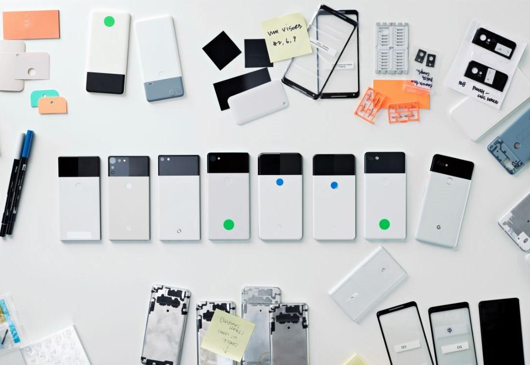 Прототипы девайсов Google из 2017 года