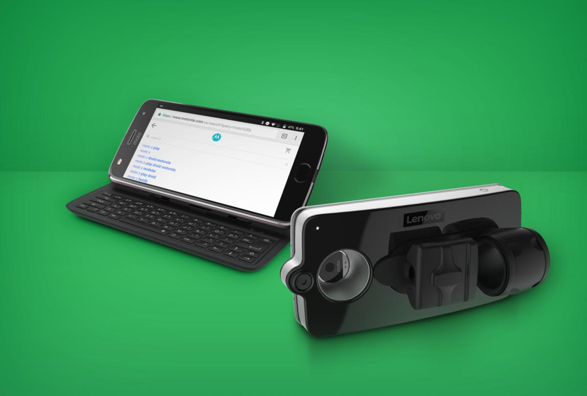 Для Moto Mods воскресили слайдер | CES 2018