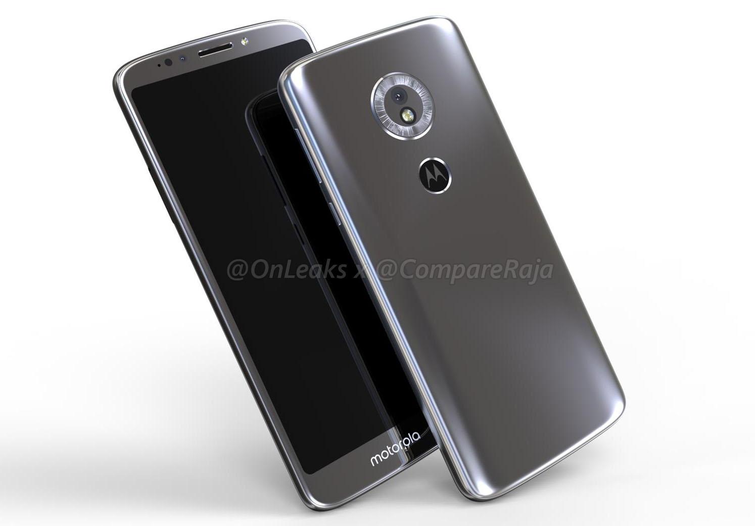 3D-модель смартфона Moto G6 Play