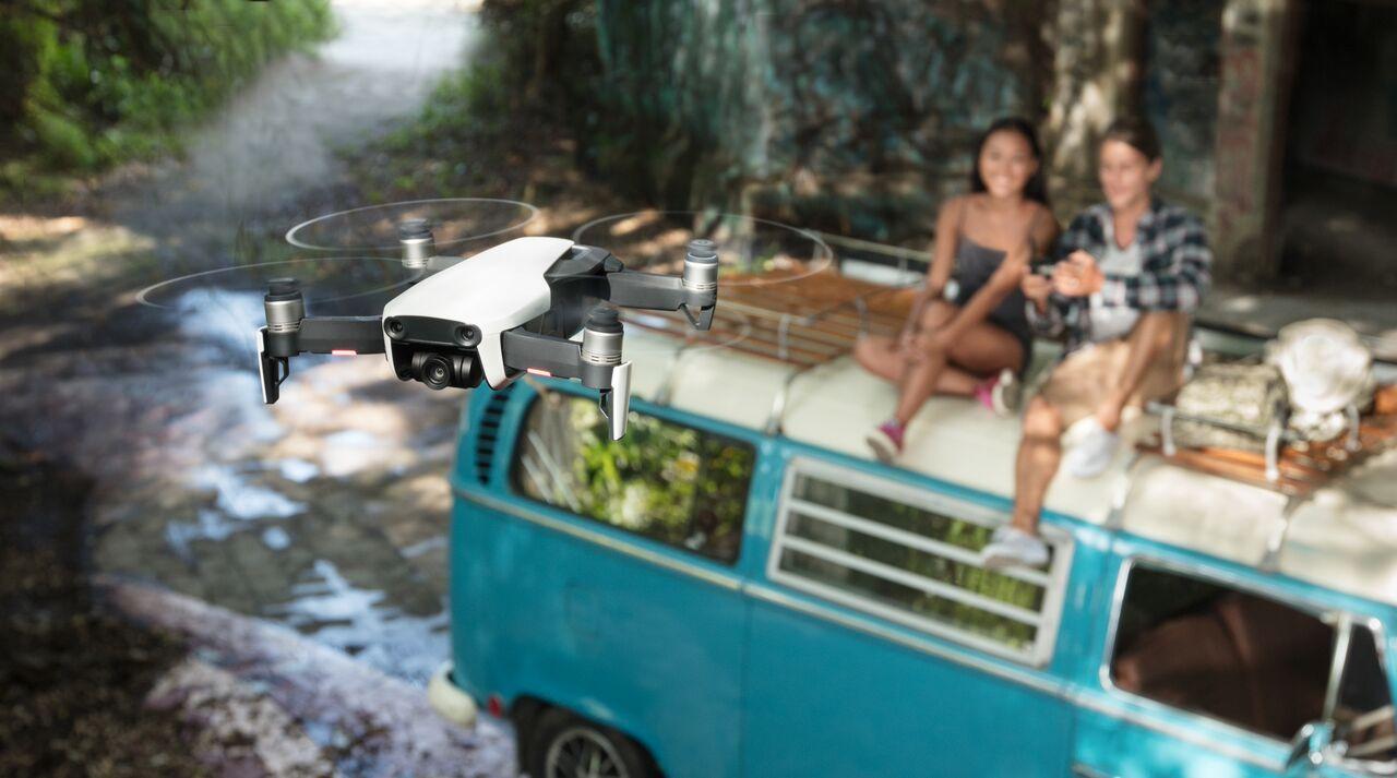 Mavic Air — складной и летающий дрон