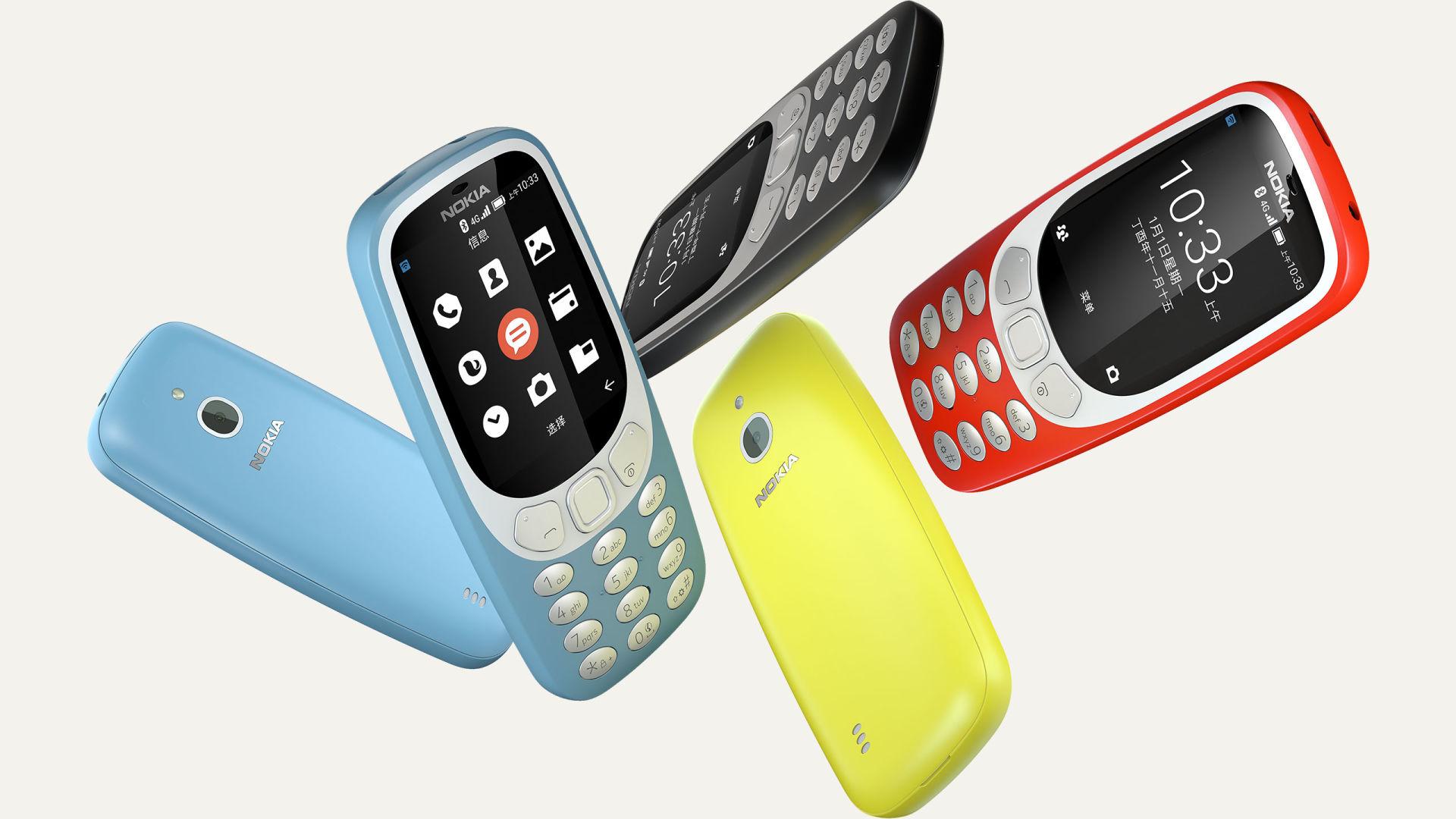 Анонсирована новая Nokia 3310