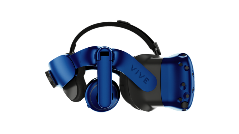 Vive Pro от HTC — усовершенствованная VR-гарнитура | CES 2018