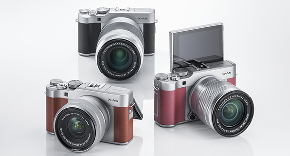X-A5 от Fujifilm — беззеркалка с 4K-видео