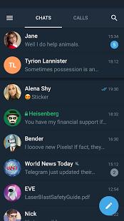 Telegram X пришел на Android