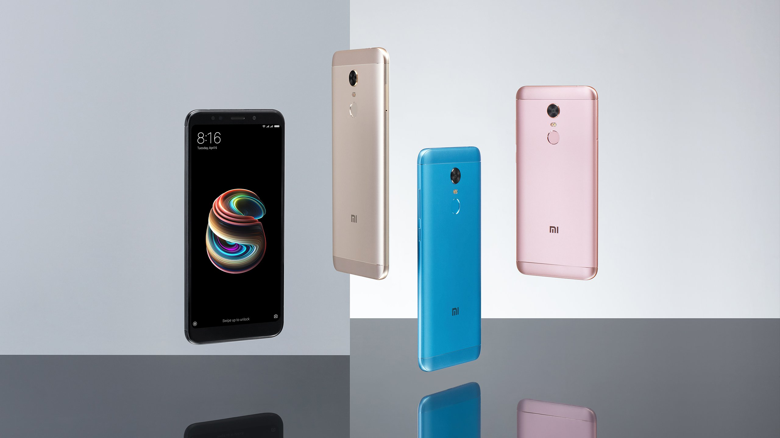 Xiaomi анонсировала смартфоны с просторными экранами