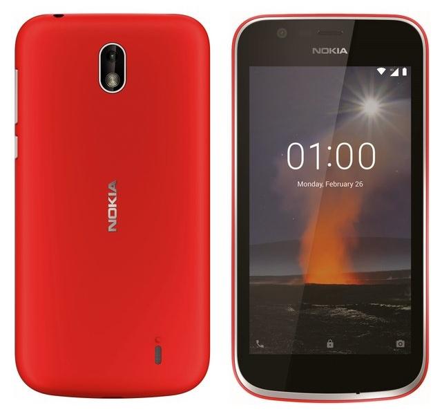Новые рендеры с Nokia 1