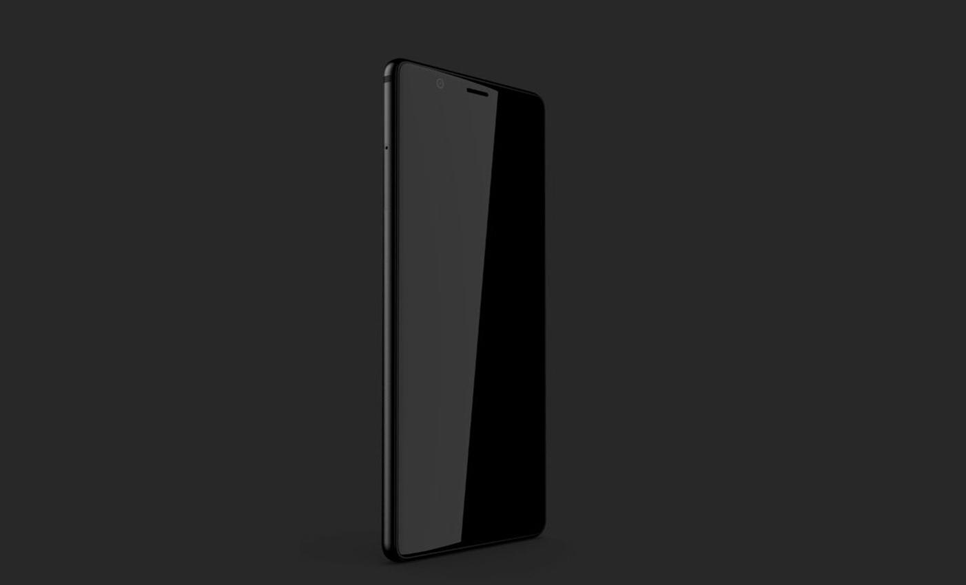 Смартфон-«призрак» BlackBerry на рендере