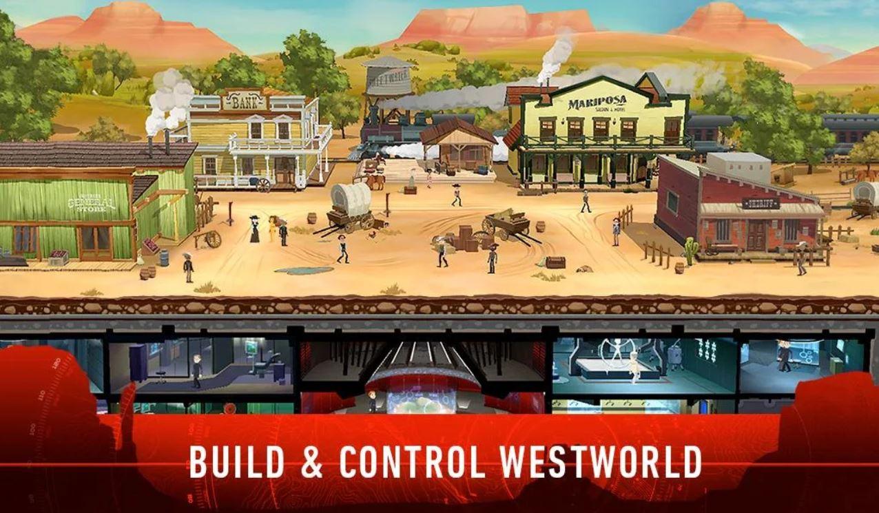 В «Мир Дикого запада» можно поиграть с мобильного
