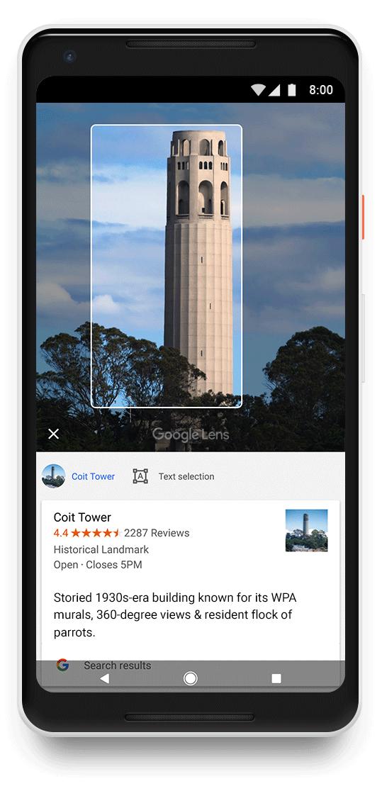 Google научит смартфоны узнавать предметы