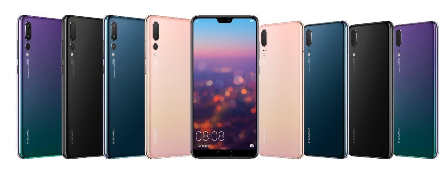 P20 и P20 Pro от Huawei — «камерофоны» с ИИ