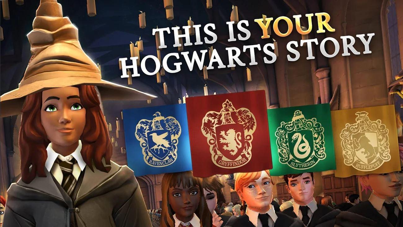 Игра про Хогвартс вышла для Android и iOS