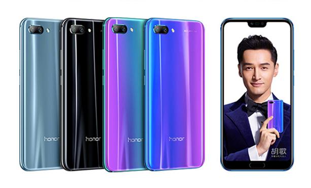 Honor 10 от Huawei — яркий «камерофон»
