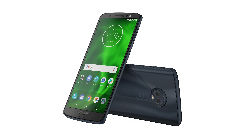 Анонсированы Moto G6, G6 Plus и G6 Play