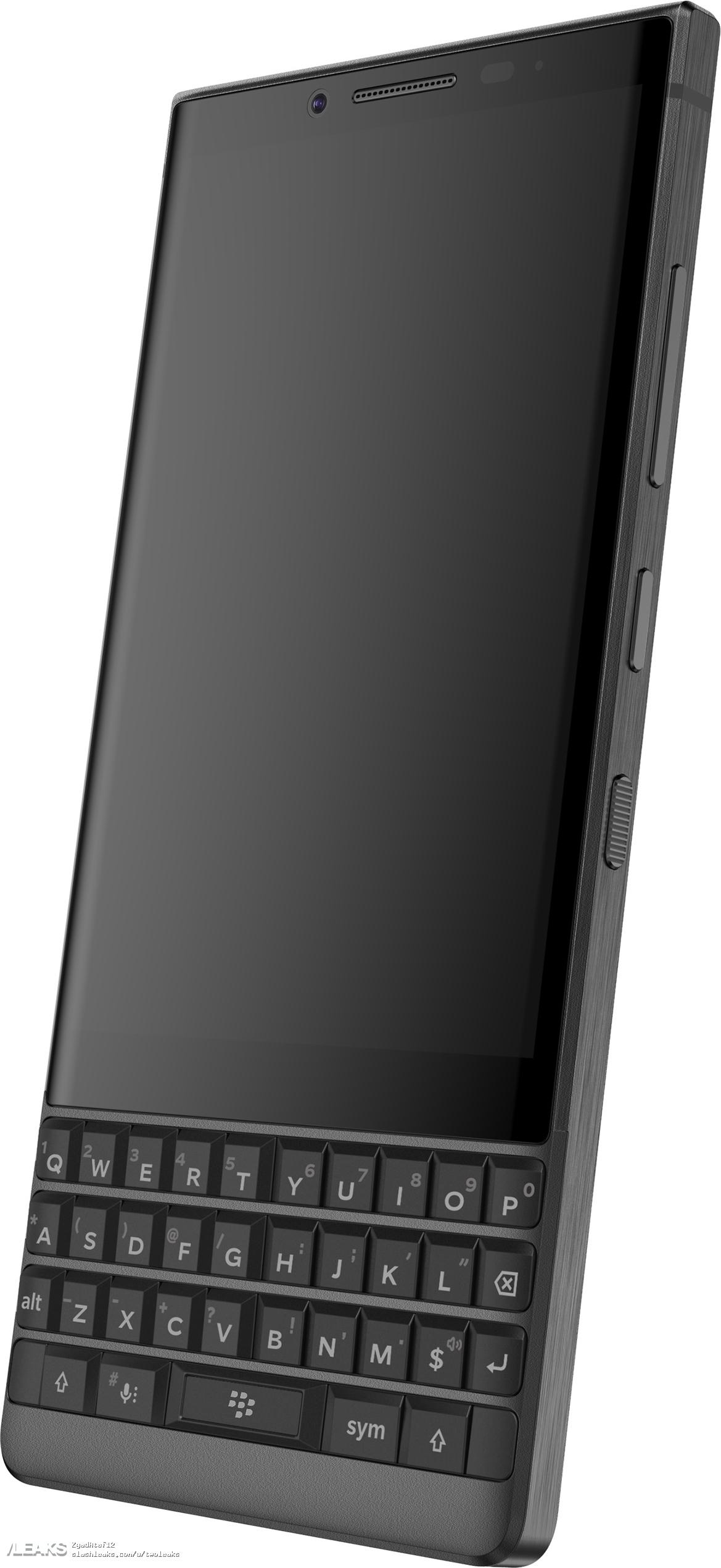 Новый смартфон BlackBerry на рендерах