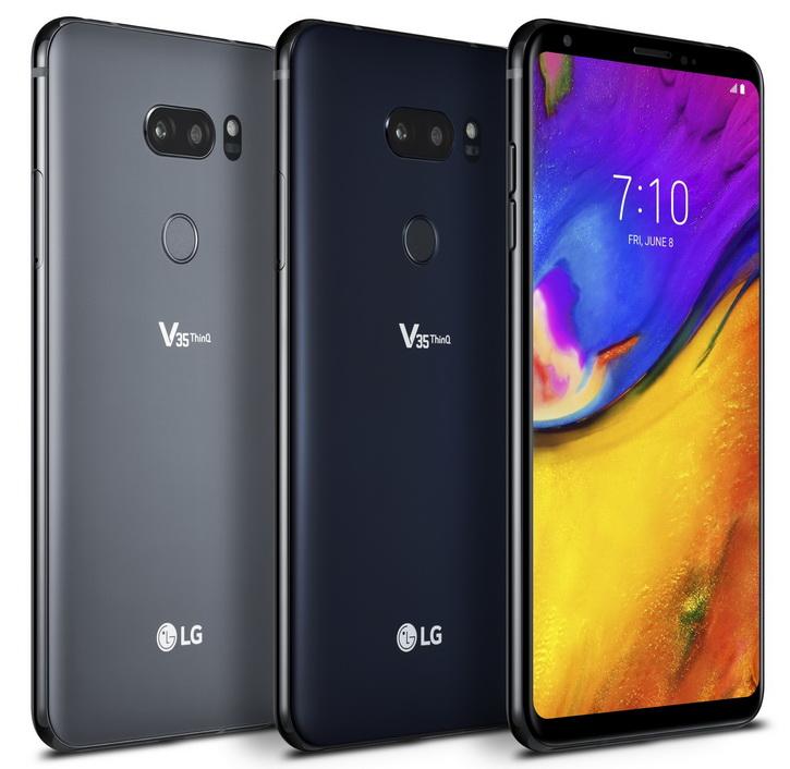 V35 ThinQ от LG — топовый смартфон без «чёлки»