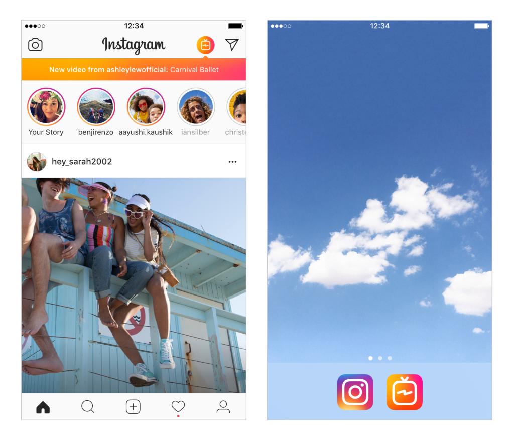 Instagram сделала приложение для макси-роликов