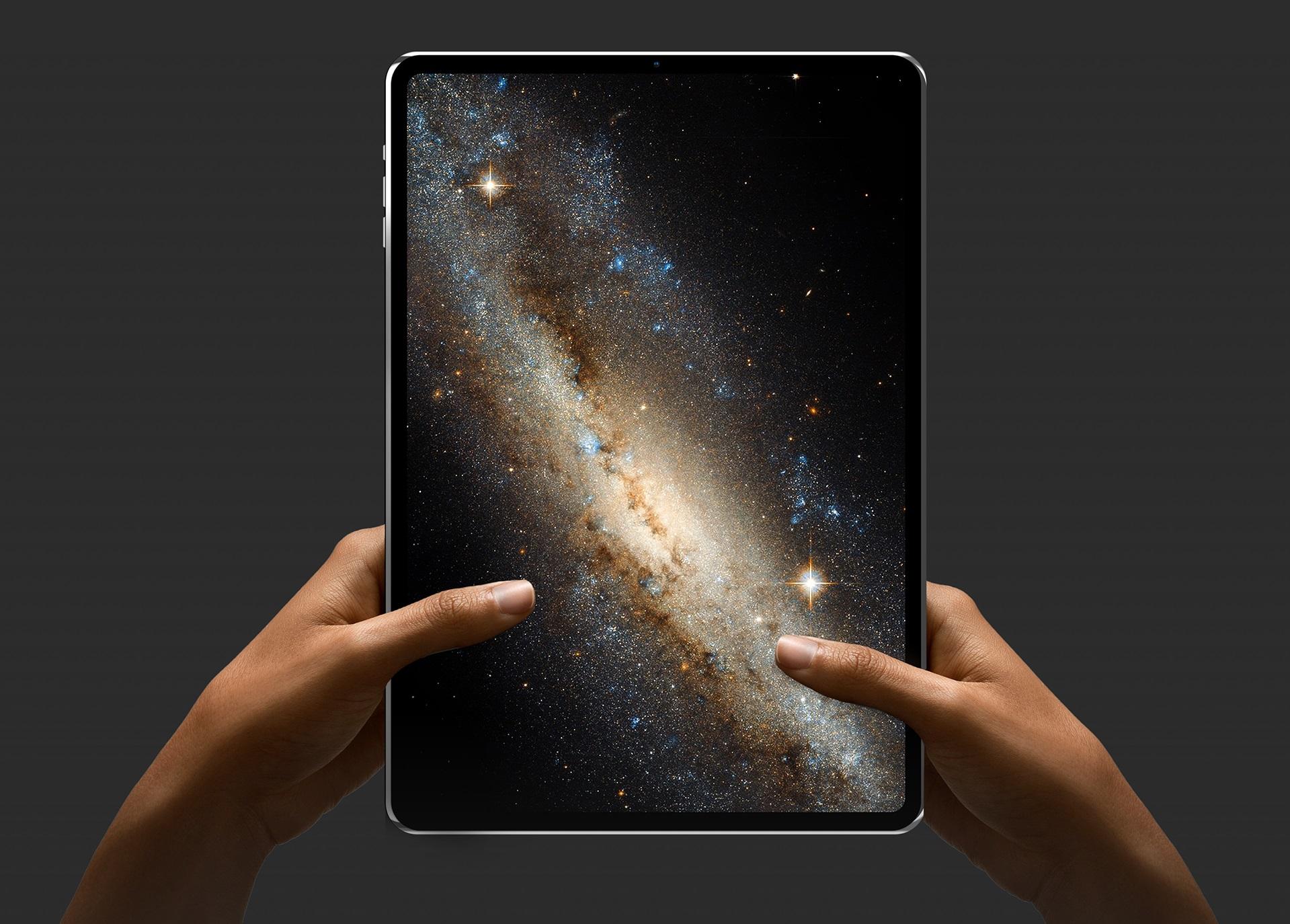 Концепт-арт с iPad Pro из 2018 года