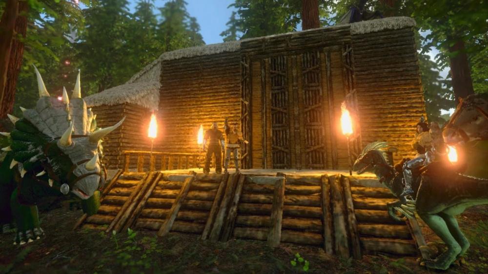 Игра ARK: Survival Evolved вышла для Android и iOS
