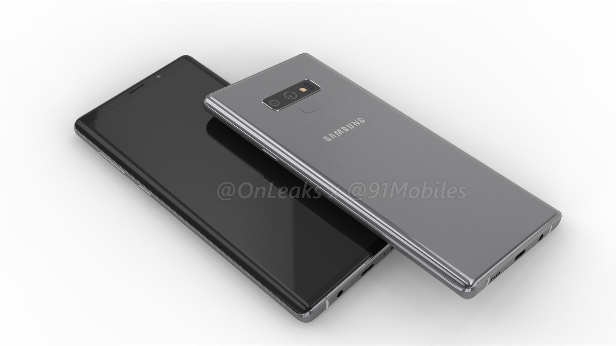 Galaxy Note9 в видеоконцепте по «утечкам»