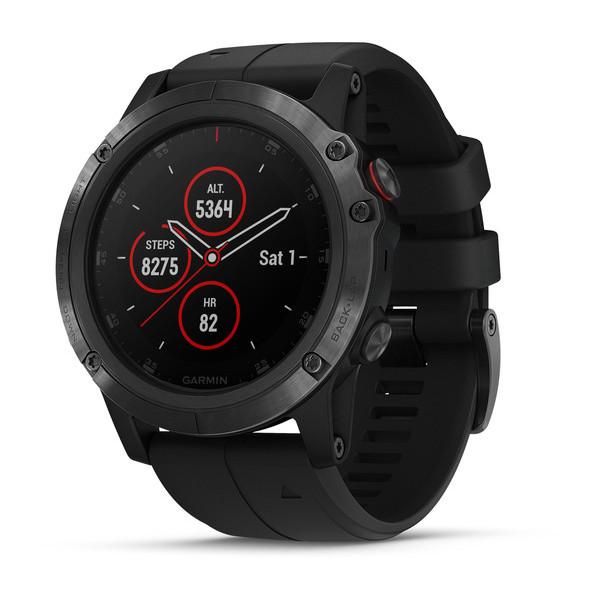 Fenix 5X Plus от Garmin — смарт-часы с пульсоксиметром