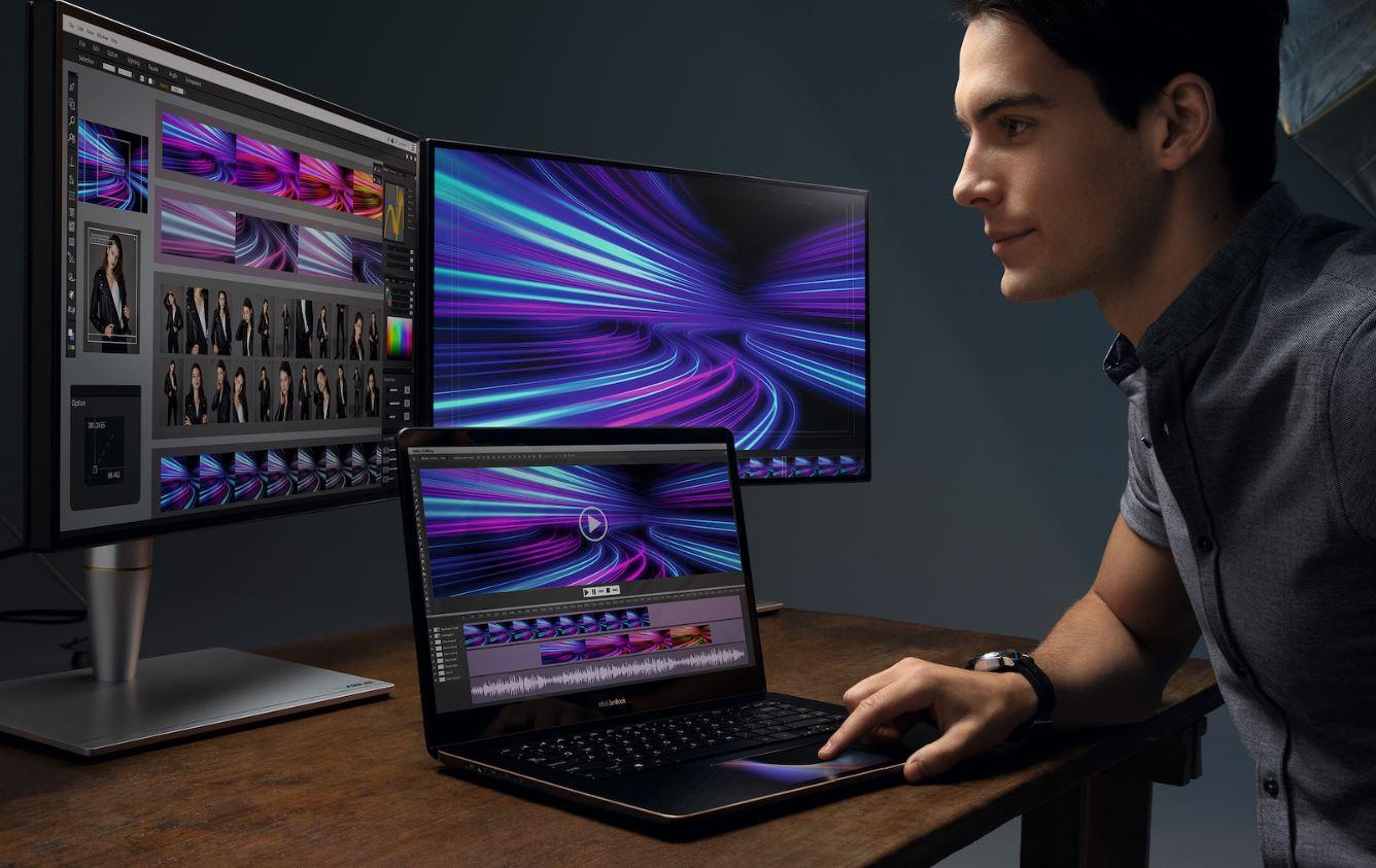 ZenBook Pro 15 — ноутбук без тачпада | Computex 2018