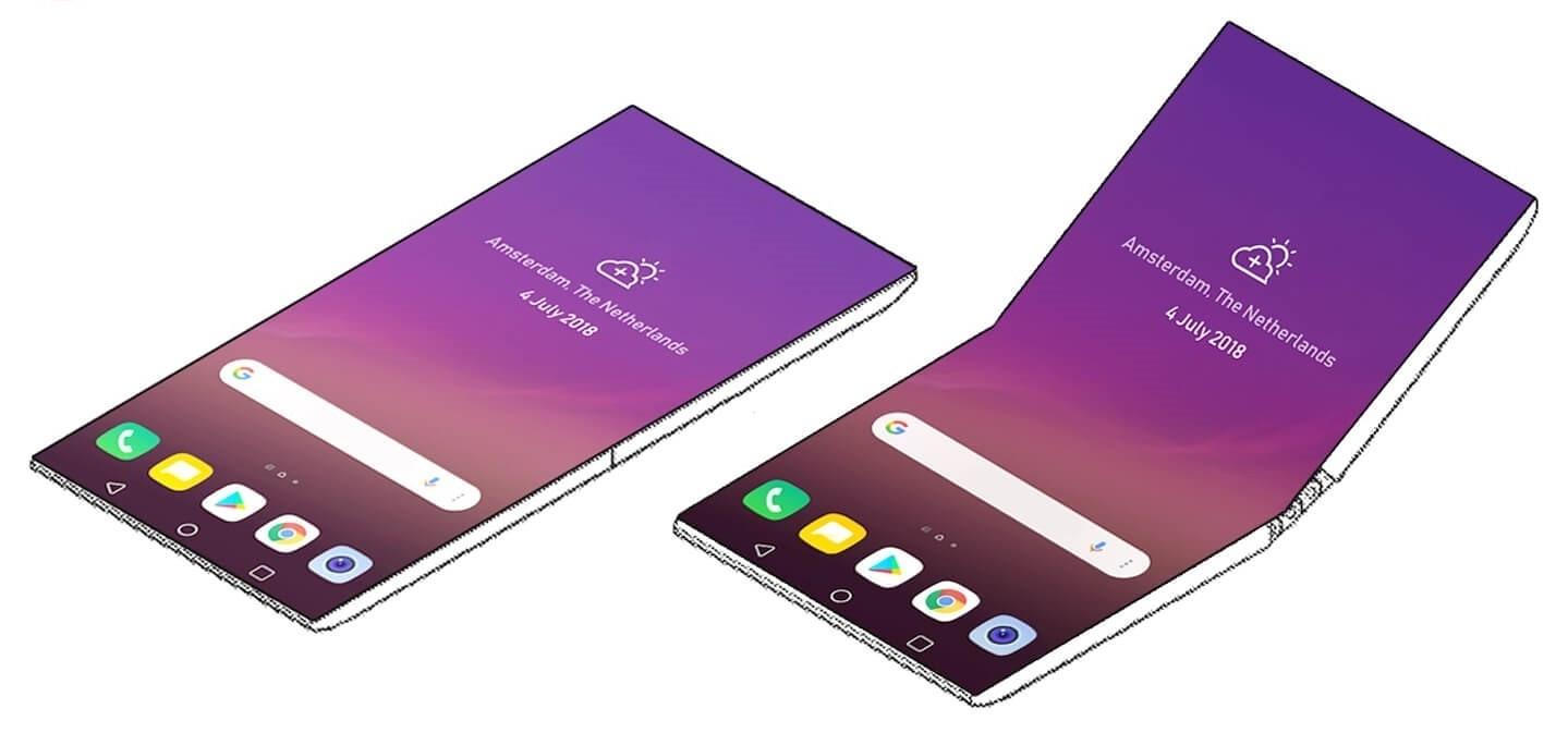 LG думает о складном смартфоне
