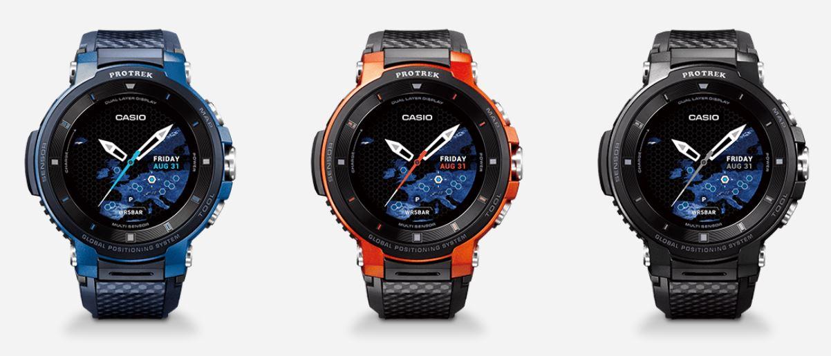 Casio показала новые смарт-часы с защитой | IFA 2018
