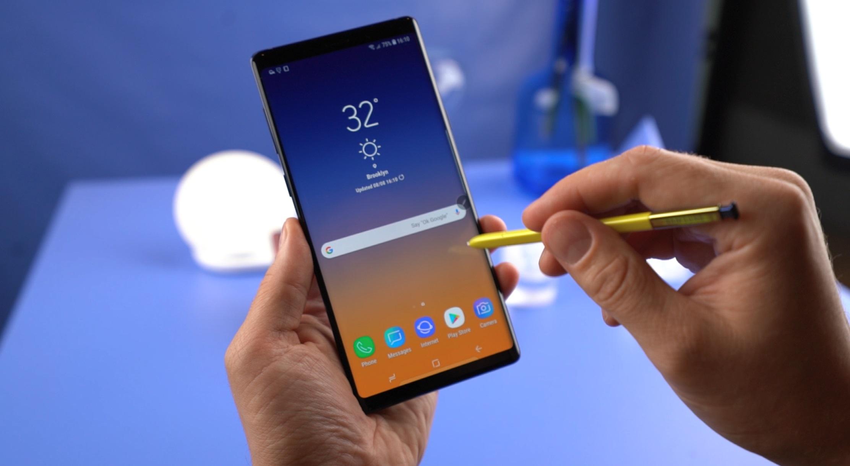 Первый взгляд на Galaxy Note9 | Видеообзор