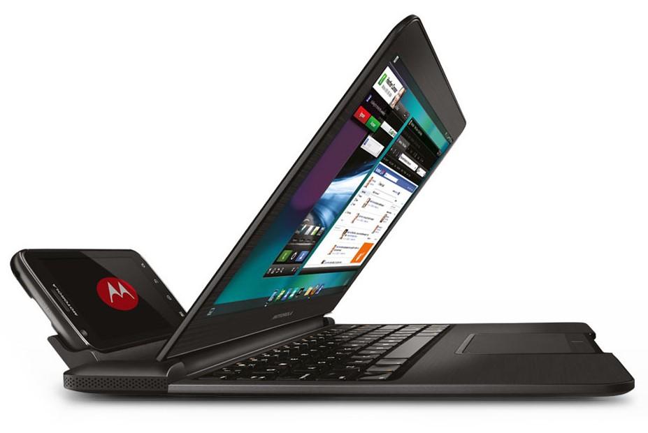 Motorola думает над док-станцией в виде ноутбука