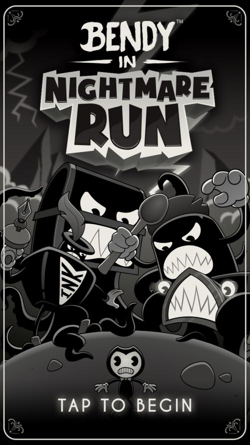 Bendy in Nightmare Run — «догонялки» в винтажном стиле