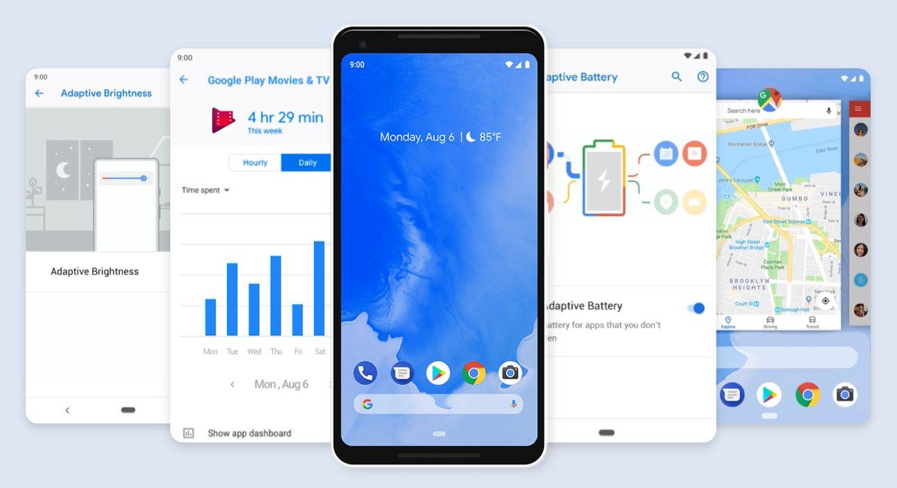 Google представила Android 9.0 Pie